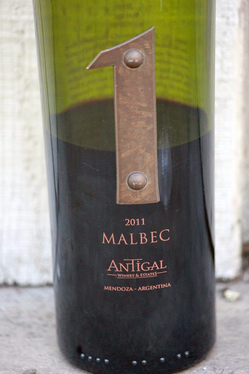 2011 Antigal 1 Uno Malbec  Mendoza Argentina