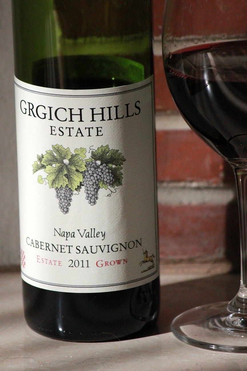 Grgich Hills 2011 Cabernet Sauvignon Napa Valley